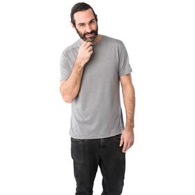super.natural Highwood T-Shirt Herren silver grey melange
